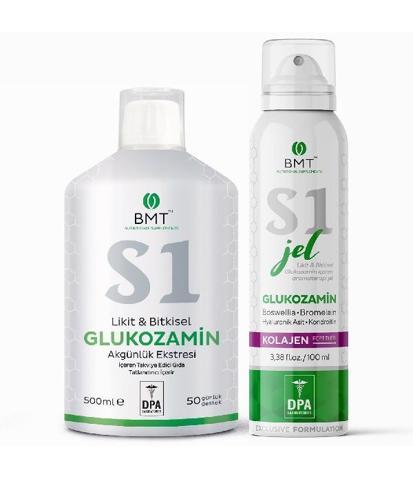 Biomet S1 Likit Bitkisel Glucosamine ve S1 Glucosa...