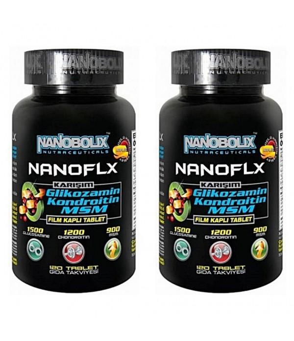 Nanobolix Nanoflx Glucosamine Chon.MSM 120 Tablet ...