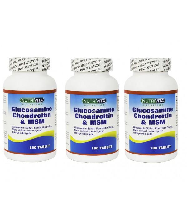 Nutrivita Nutrition Glucosamine Chondroitin Msm 18...