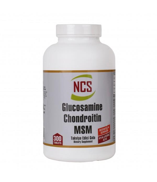 NCS Glucosamine Chondroitin MSM Hyaluronic Acid Bo...
