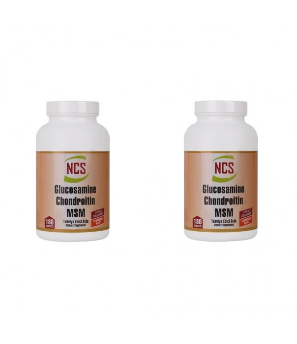 Ncs Glucosamine Chondroitin MSM TYPE II Collagen T...