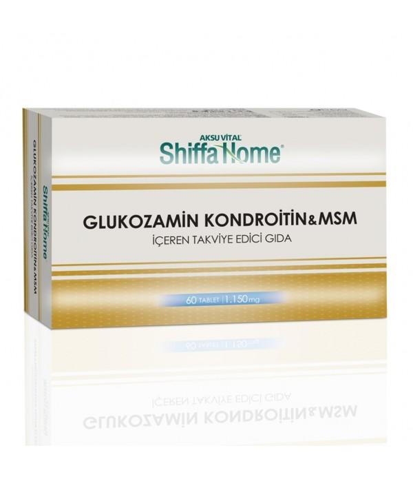 Shiffa Glucosamine Chondroitin Msm ve Bromelain 60 Tablet