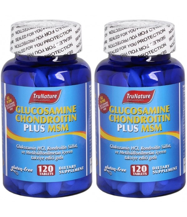 Trunature Glucosamine Chondroitin Plus Msm 120 Tablet 2 Adet